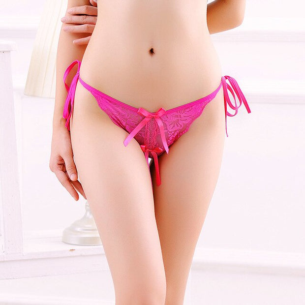 Women Sexy Lingerie | Porn Lace transparent underwear sex wear cheeky bikini g-string - BULULU-SHOP