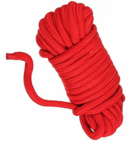 5M Rope Cord Binding Binder Restraint | Soft Cotton Rope BDSM Bondage Shibari Restraints
