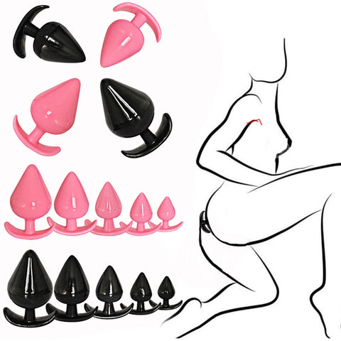Woman Medical Silicone Sensuality Soft Safe Hypoallergenic | Butt Anal Plug Trainer Kit Pleasurable Beginners Adult Sex Toys