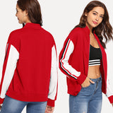 Sporty Lightweight Track Jacket
