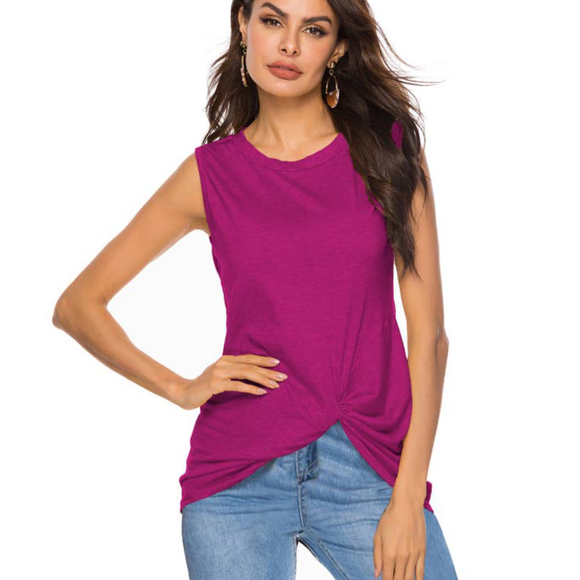 Magenta Twist bottom Tank