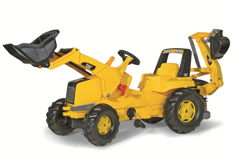 CAT FRONT LOADER W/BACKHOE  (813001)