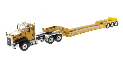 Caterpillar CT660 Day Cab with XL 120 Low-Profile HDG Lowboy Trailer (85503)