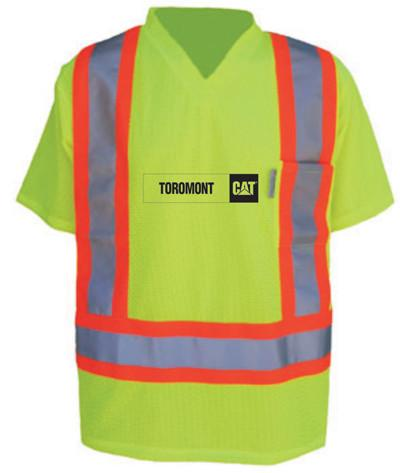 Toromont CAT High Visibility Safety T-Shirt