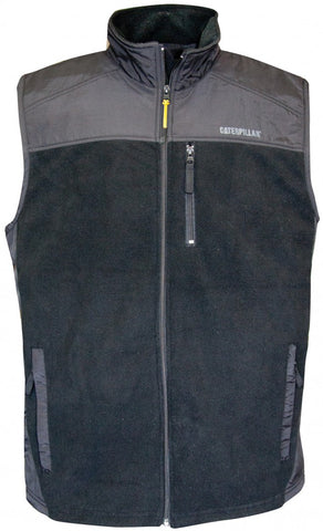 VEST FLEECE BLK