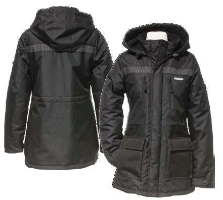 Black Women's Parka