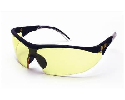 Yellow Polycarbonate Safety Glasses