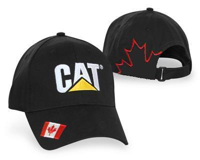 CAT Canadian Flag Hat