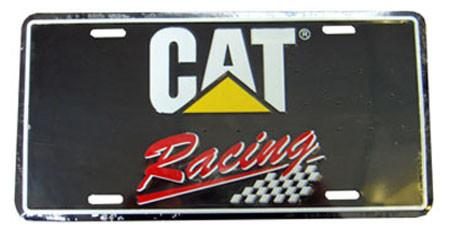 CAT Racing License Plate