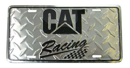 CAT Racing License Plate 2