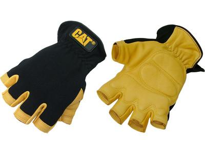 CAT Half Finger Deerskin Gloves (CAT012206)