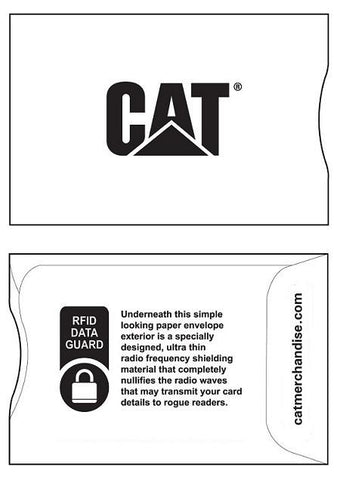 CAT RFID Credit Card Protector Sleeve