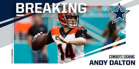 ANDY DALTON COWBOYS