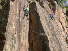 Load image into Gallery viewer, 'On The Rock' Introduction To Outdoor Climbing - 1 Day (Family/Private Group Session)