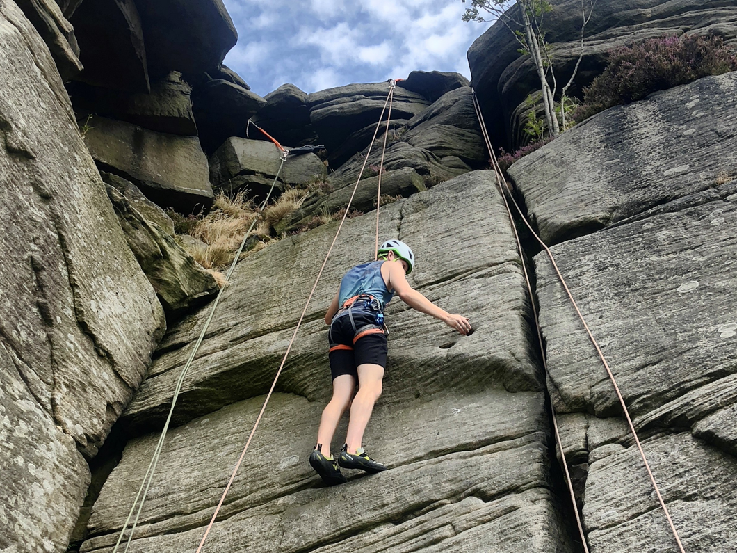'On The Rock' Introduction To Outdoor Climbing - 1 Day (Family/Private Group Session)