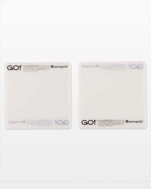 "GO! Cutting Mats 6"" x 6"" (2-pack)"