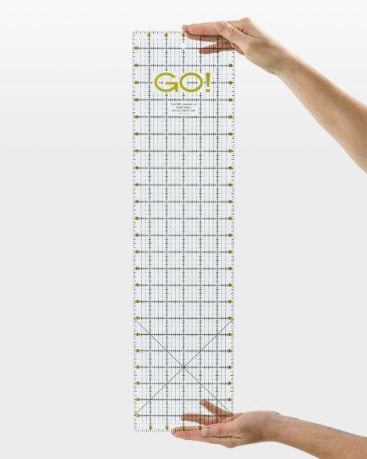 "GO! Quilting Ruler-6"" x 24"""