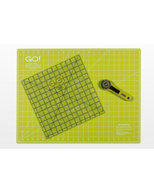 "GO! Rotary Cutting Mat-18"" x 24"" Double Sided - Kawartha Quilting and Sewing"