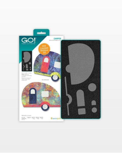 GO! Camper Limited Edition Die - Kawartha Quilting and Sewing LTD.