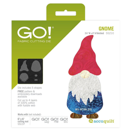 GO! Gnome - Kawartha Quilting and Sewing