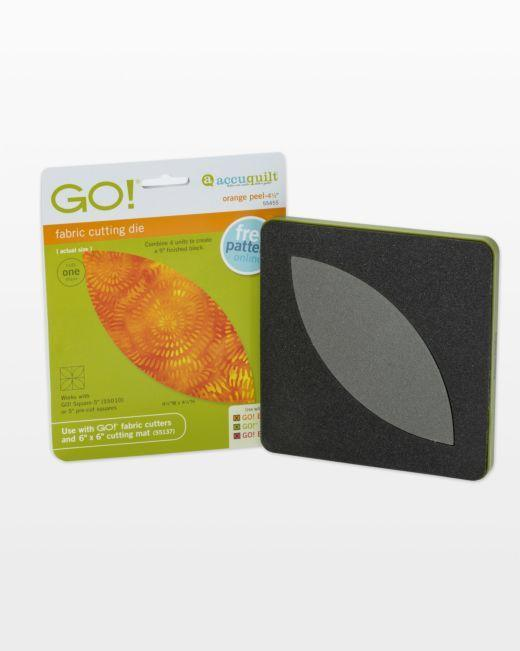 "GO! Orange Peel-4 1/2"" Die"