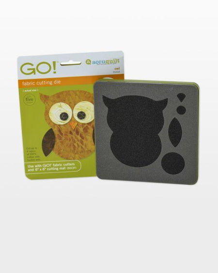 GO! Owl Die - Kawartha Quilting and Sewing LTD.