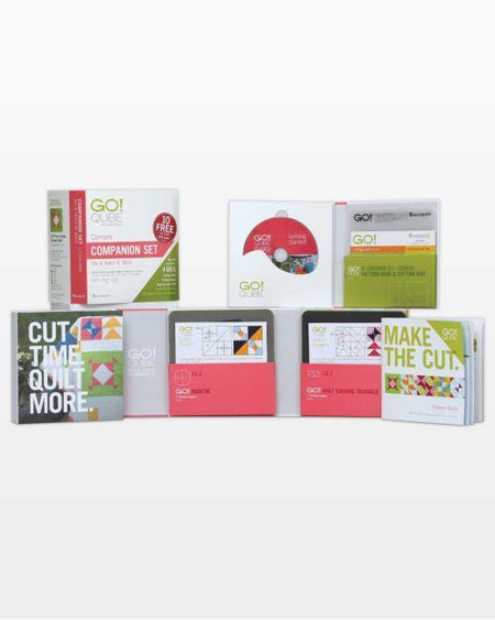 "GO! Qube 8"" Companion Set-Corners - Kawartha Quilting and Sewing"
