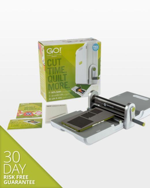 AccuQuilt GO! Fabric Cutter Starter Set - Kawartha Quilting and Sewing LTD.