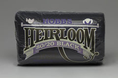 "Hobbs Heirloom® Premium 80/20 Cotton/Poly Blend - Black - 108"" x 30yds. Roll - PREORDER"