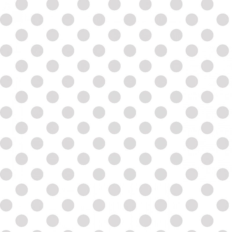 "Dots - White on White - 44/45"" Wide - Kimberbell Basics - Kawartha Quilting and Sewing LTD."