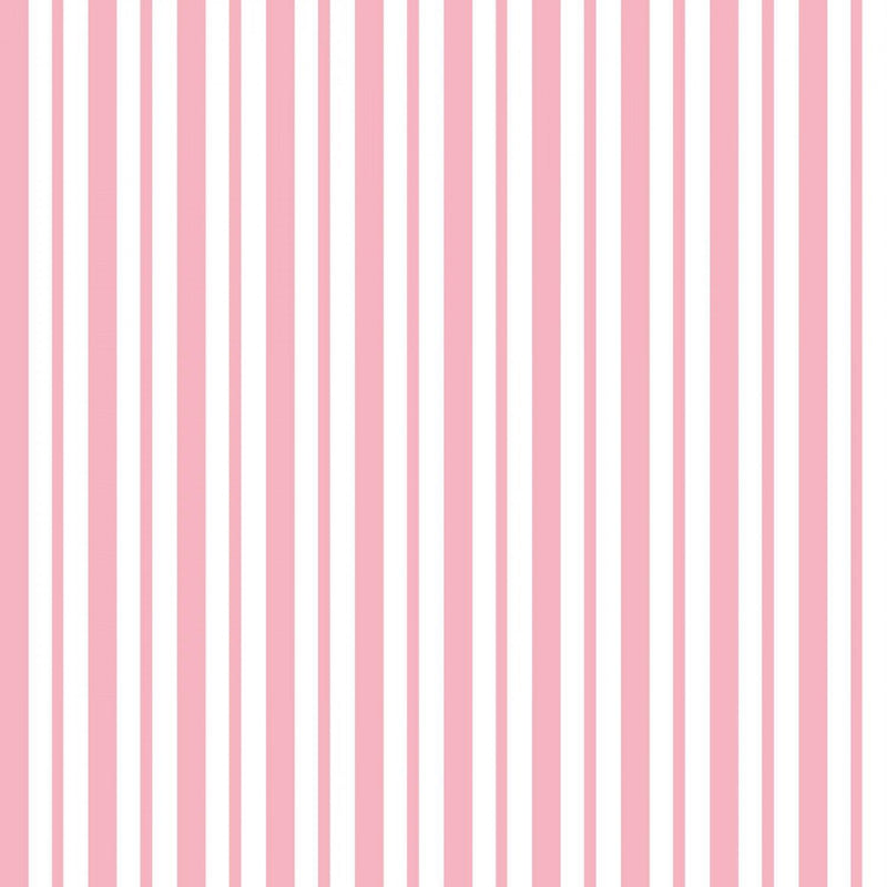 "Mini Awning Stripe - Pink - 44/45"" Wide - Kimberbell Basics - Kawartha Quilting and Sewing LTD."