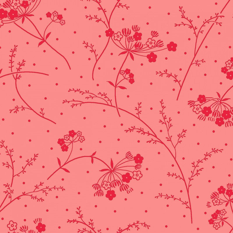"Queen Anne's Lace - Pink - 44/45"" Wide - Kimberbell Basics - Kawartha Quilting and Sewing LTD."