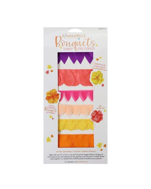 Bouquets - Summer - Pull Flowers - Kimberbell - Kawartha Quilting and Sewing