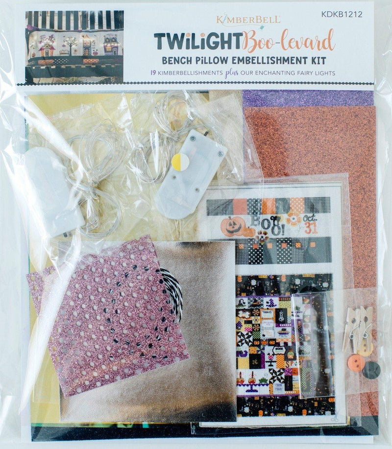 Twilight Boo-levard – Embellishment Kit - Kawartha Quilting and Sewing LTD.