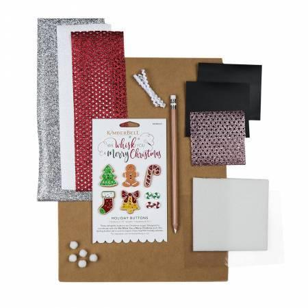 We Whisk You A Merry Christmas – Embellishment Kit - Kimberbell - Kawartha Quilting and Sewing LTD.