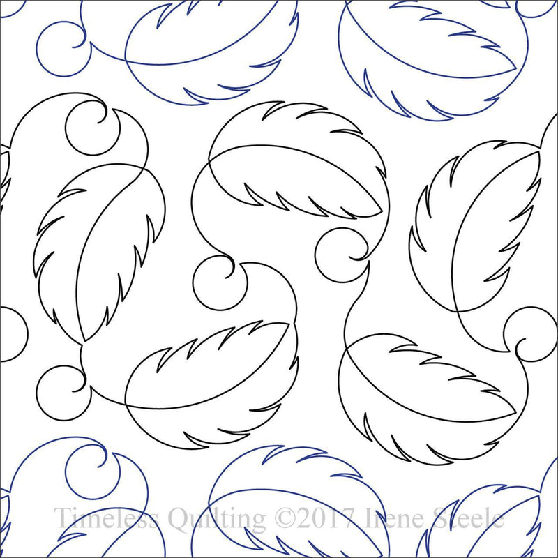 Birds of a Feather - Paper Pantograph - Kawartha Quilting and Sewing