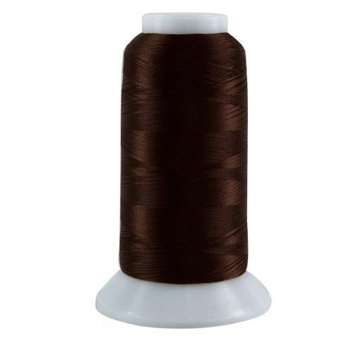 Dark Brown, Bottom Line, 3000YD - Kawartha Quilting and Sewing LTD.