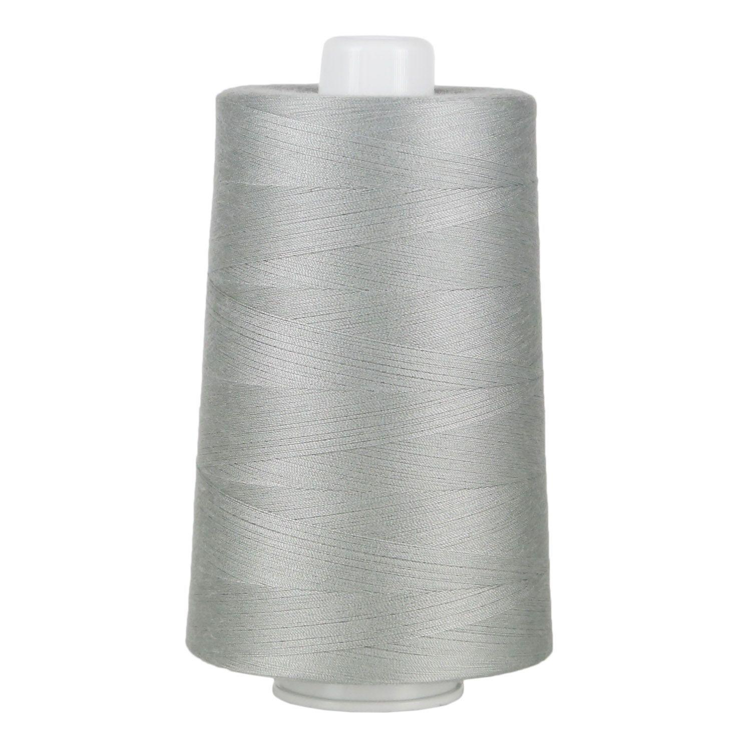 6,000 Yds. Superior Threads Omni Bright White Poly-Wrapped Poly Core Sewing Thread for Quilting
