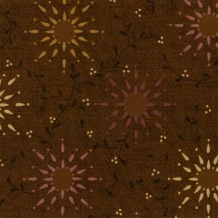 "Brown Prarie Vine - 108"" Wide"