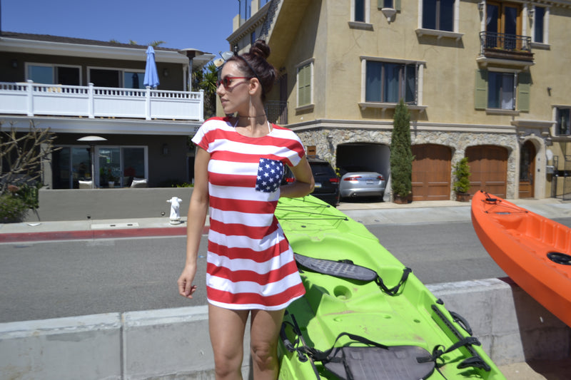 USA T-Shirt Dress