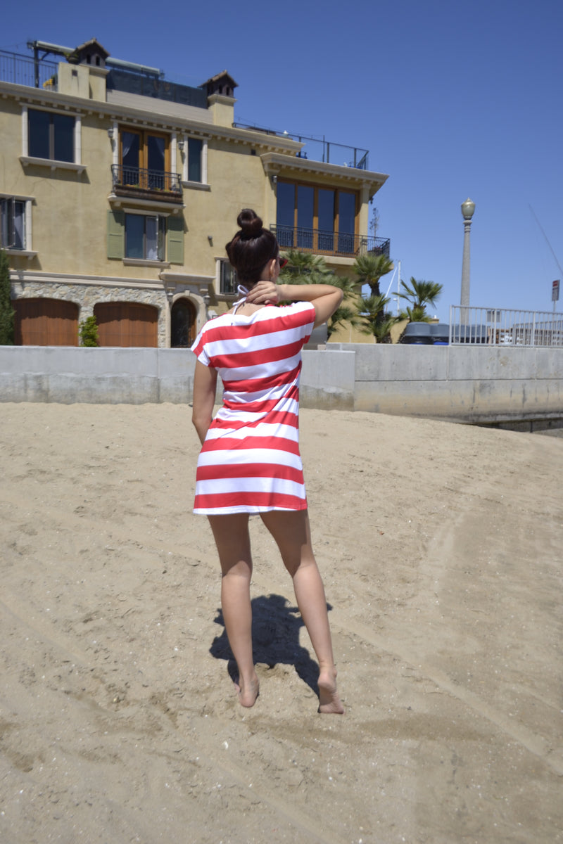 American Flag T-Shirt  Dress