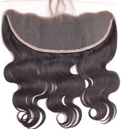 "Brazilian Virgin Lace Frontal Closure Body Wave 13""x 4"" Ear To Ear"