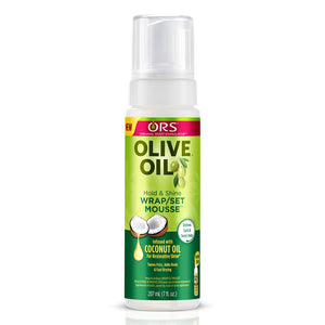 ORS Olive Oil Hold & Shine Wrap/Set Mousse