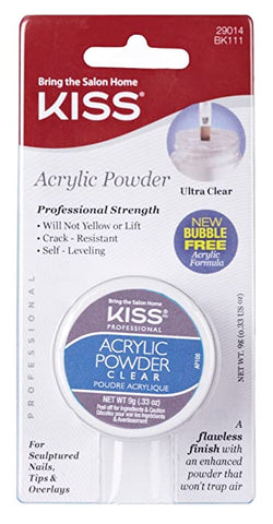 Kiss Acrylic Powder Ultra Clear