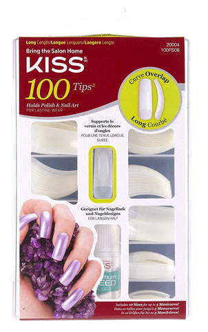 Kiss 100 Pc Nail Tips