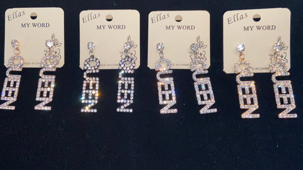Ellas My World Earings
