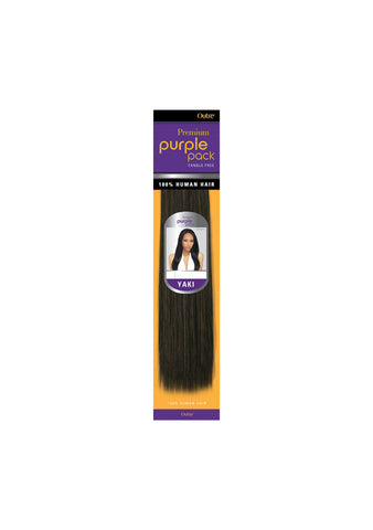 Yaki Purple Pack (2 Pack Deal) 100% Human Hair