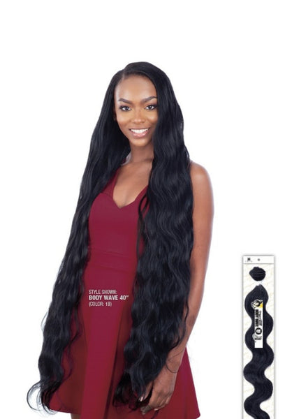 Mastermix Long Ponytail Bundles Straight & Wavy