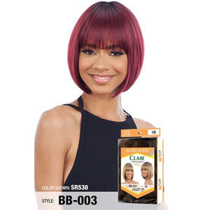 Model Model Human Hair Blend Clair Wig - BB 003