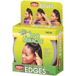 African Pride Olive Miracle Edge control 2.25 oz